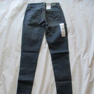 Levi's 535 Jeans 119970022 Legging Blue Inked